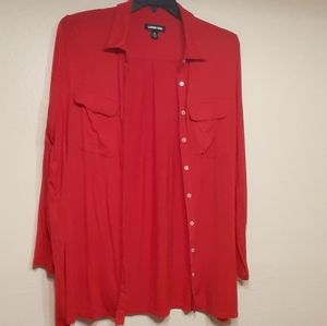 Plus size women's Lands End blouse